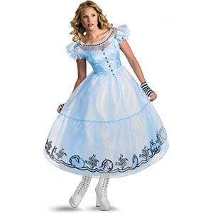 Disguise Women's Alice in Wonderland Deluxe Costume