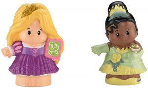 Fisher-Price Little People Disney Princess Rapunzel & Tiana Figures