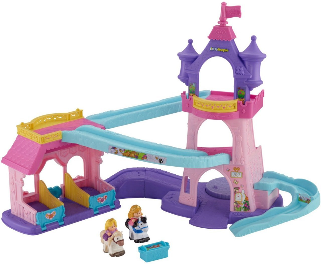 Fisher-Price Little People Disney Princess Klip Klop Stable (Discontinued by manufacturer)