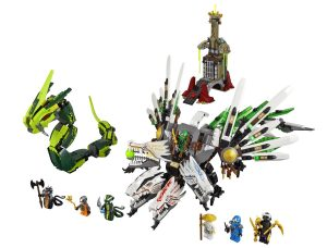 LEGO Ninjago 9450 Epic Dragon Battle