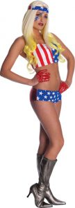 Lady Gaga American Flag Outfit Costume