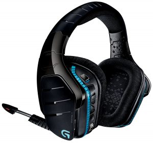 Logitech G933 Artemis Spectrum – Wireless 7.1 Surround Gaming Headset – Multiple Platform Compatibility – Personal Customization – Advanced Audio Drivers – Black