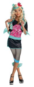 Monster High Lagoona Blue Costume - One Color - Large