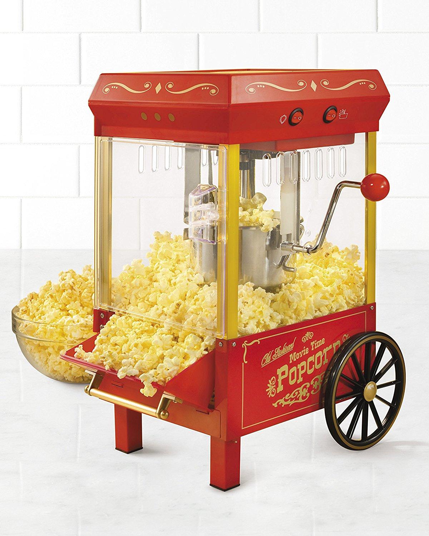 Nostalgia Electrics Green Hot Oil Kettle Popcorn Maker KPM508