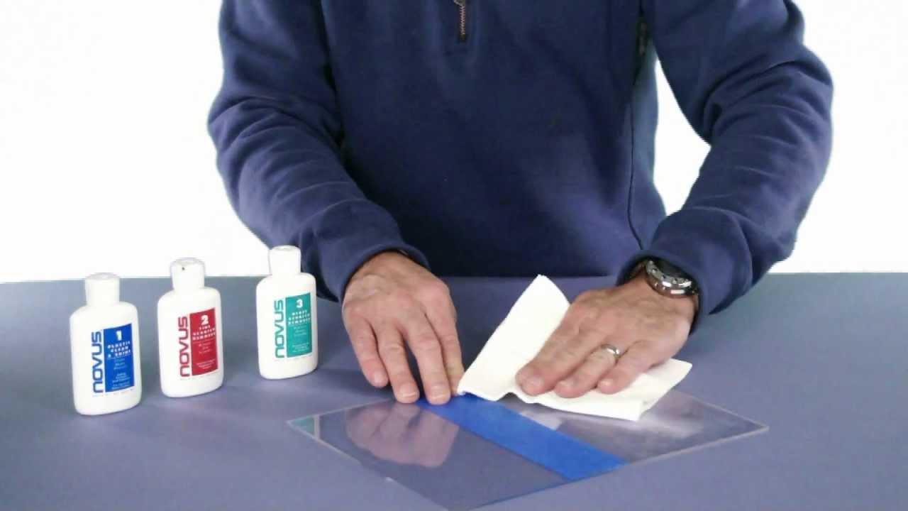 Novus 1, 2, 3 Kit Plastic Polish and Scratch Remover