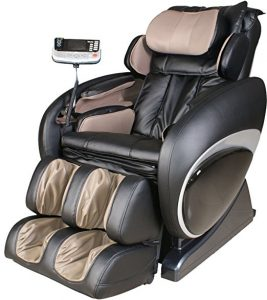 Osaki OS4000A Model OS-4000 Zero Gravity Executive Fully Body Massage Chair, Black, Computer Body Scan System, True Ergonomic S-Track, Upgraded PU covering