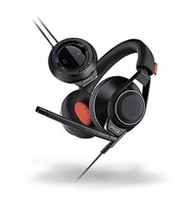Plantronics 202180-01 RIG Surround PC Gaming Headset with 7.1 Surround Sound-Enabled USB Amp, Black
