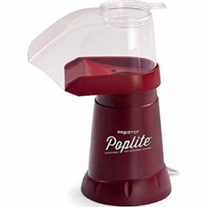 Presto PopLite Hot Air Corn Popper 04860 (none, Dark Red)