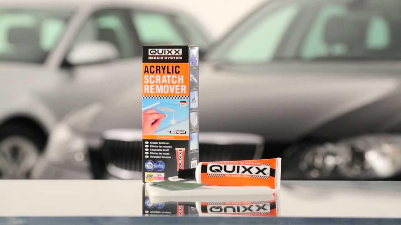 Quixx Acrylic Scratch Remover