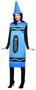 Blue Crayon costume