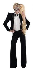 Lady Gaga Tuxedo Adult Costume