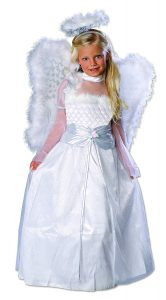 A Great Angel Halloween Costume for Your Little Girl!