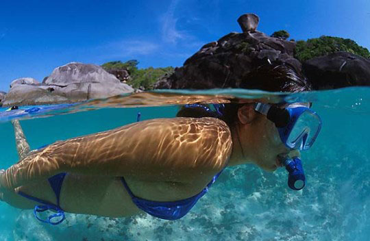 Similan Islands and Richeleau Rock, Thailand