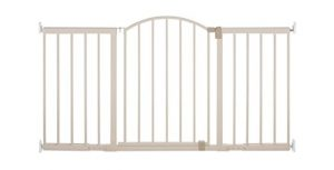 Summer Infant Metal Expansion Gate, 6 Foot Wide Walk-Thru, Neutral finish