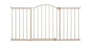 Summer Infant Metal Expansion Gate, 6 Foot Wide Walk-Thru, Neutral finish