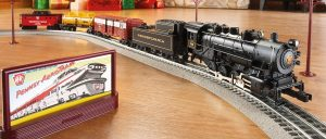 Lionel Pennsylvania Flyer Freight Train Set with Diorama