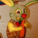 Veggie and Fruit Art Holiday Centerpieces & Pumpkin Carving