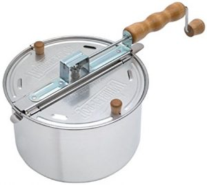 Review Wabash Valley Farms Whirley-Pop Stovetop Popcorn Popper