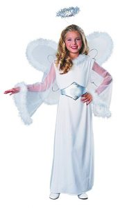 Feathered Fashions Child's Snow Angel Costume, Large