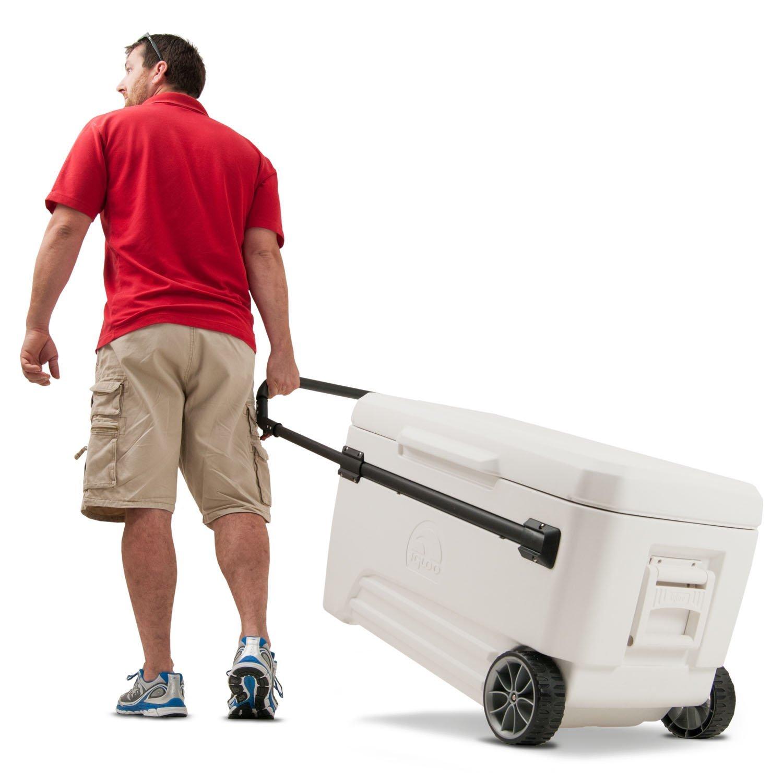 Igloo Glide PRO Cooler (110-Quart, White)