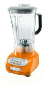 KitchenAid KSB560TG 5-Speed Blender with Polycarbonate Jar, Tangerine