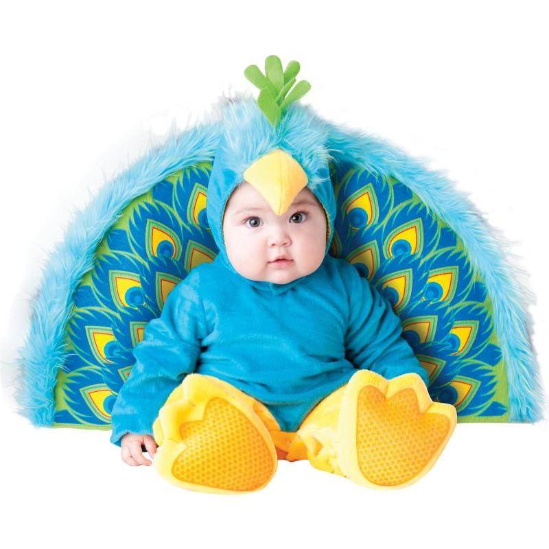 Precious Peacock Baby Halloween Costume