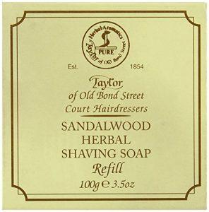 Taylor of Old Bond Street Sandalwood Hard Shaving Soap