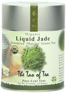 The Tao of Tea, Liquid Jade Powdered Matcha Green Tea, Loose Leaf, 3-Ounce Tin