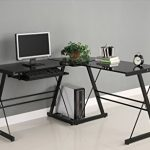 3-Piece Corner Desk Review-3-Piece Corner Desk from Walker Edison