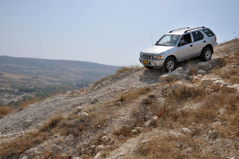 Driving on hilly slopes is not an easy task