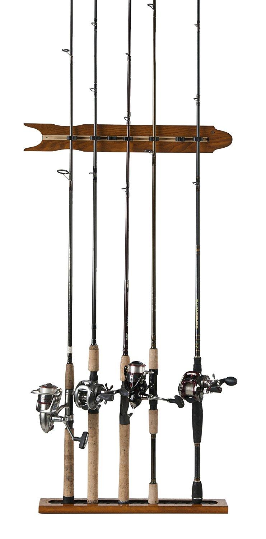 5 Best Fishing Rod Storage Racks-Top Rod Holders (Updated 2021)