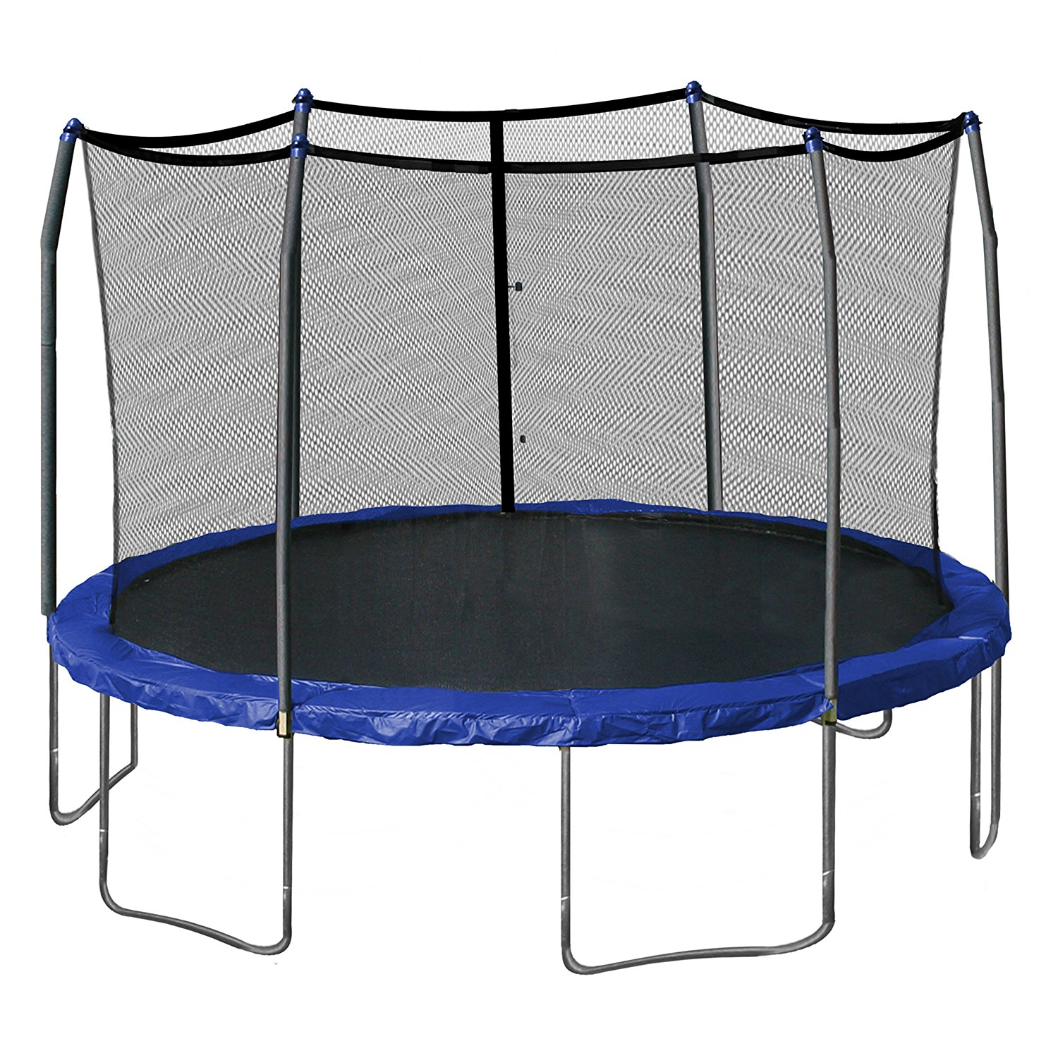 Skywalker Trampolines 15-Feet Round Trampoline and Enclosure with Spring Pad Review