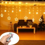 Top 8 Best Christmas Curtain lights Reviews 2018