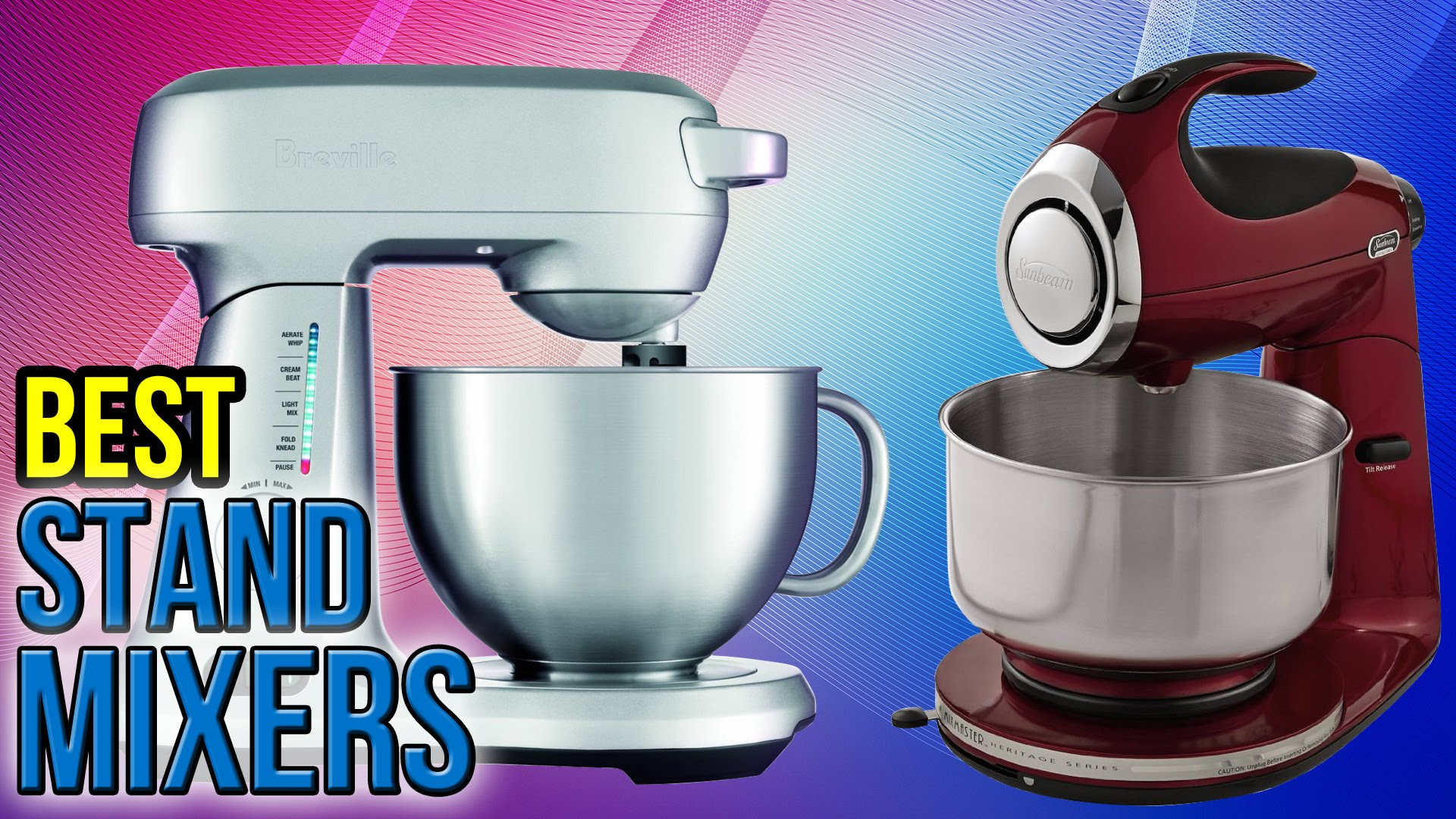 Best Stand Mixers on the Market