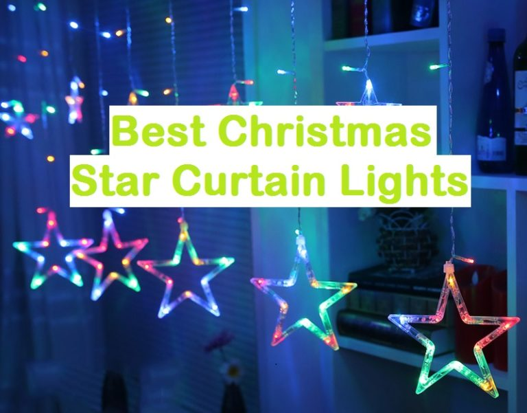 Top 10 Best Christmas Star Curtain Lights Reviews (Updated Apr, 2021)