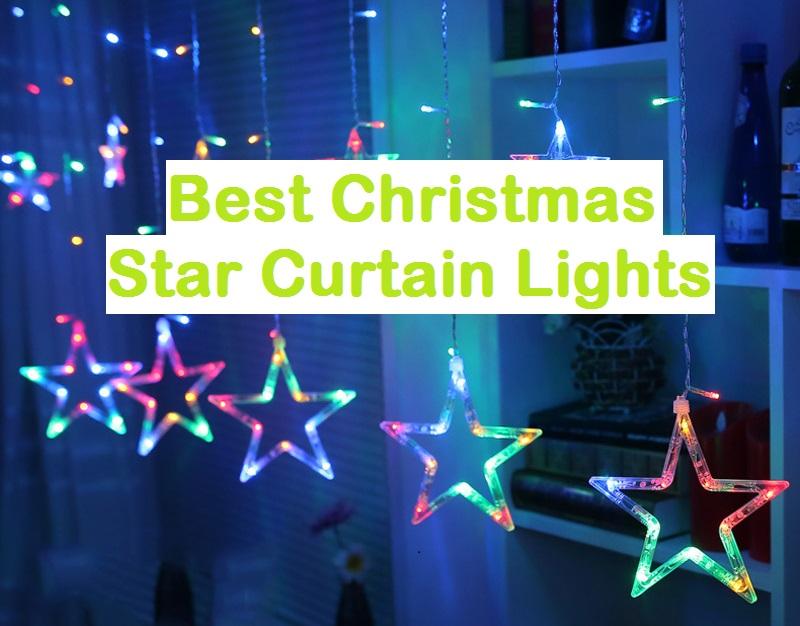 Best Christmas Star Curtain Lights