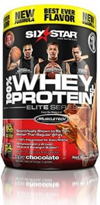 Six Star Pro Nutrition 100% Whey Protein Plus, 32g Ultra-Pure Whey Protein Powder, Triple Chocolate, 2 Pound