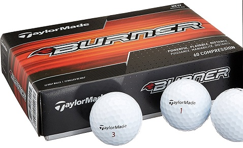 TaylorMade Golf 2017 Burner Golf Balls (One Dozen)