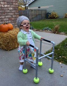 Toddler Granny Costume
