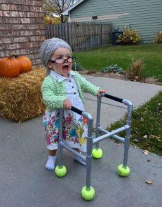 Toddler Granny Costume