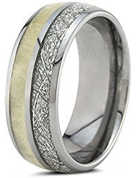 Tungsten Wedding Band Ring 8mm