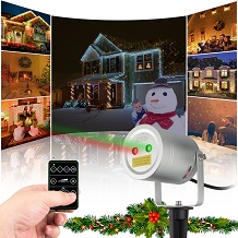 2 Color Motion Laser Light Star Projector with RF Remote
