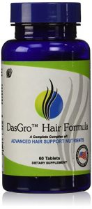 Buy DasGro Hair Growth Vitamins with Biotin and DHT Blocking Ingredients for All Hair