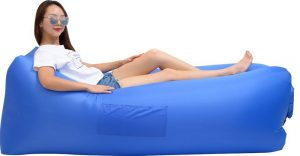 iZEEKER Inflatable Lounger Wind Breezy Pouch Couch