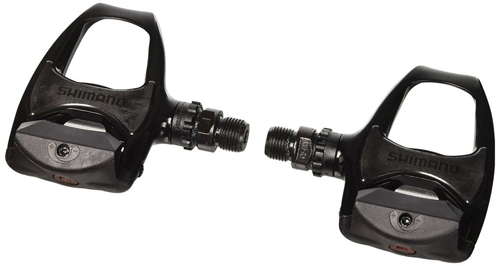 Shimano SPD-SL PD-R540 Clipless Pedals (White)