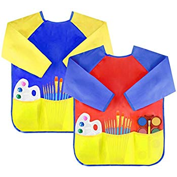KUUQA Waterproof Children's Art Smock