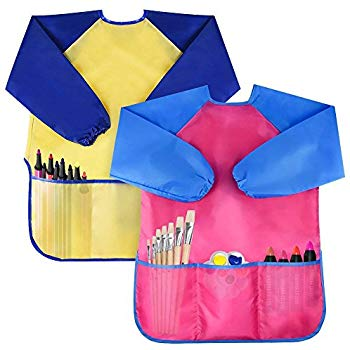Bassion Waterproof Artist Painting Aprons
