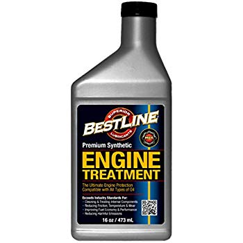 BestLine 853796001049 Premium Synthetic Engine Treatment for Gasoline Engines