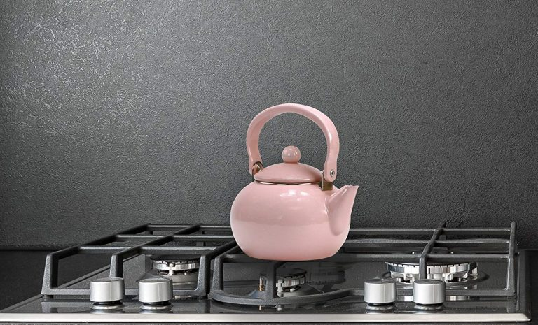 10 Best Pink Tea Kettles Reviews (Electric & Stove Top) in 2021