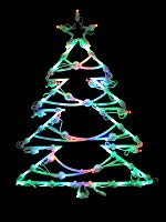 "Northlight 15.5"" LED Lighted Tree Double Sided"